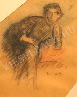 Kernstok Károly - Ülő nő