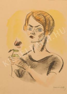 Márffy Ödön - Csinszka egy szál virággal