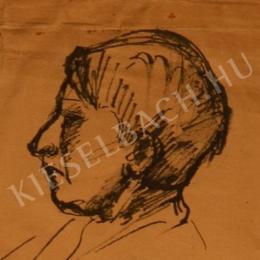 Kernstok Károly - Móra Ferenc arcképe