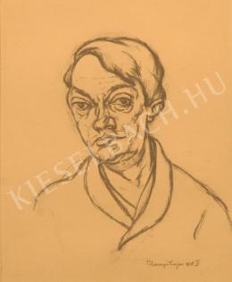Tihanyi Lajos - Ady Endre arcképe