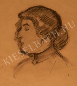Kernstok Károly - Tanulmány Lédáról