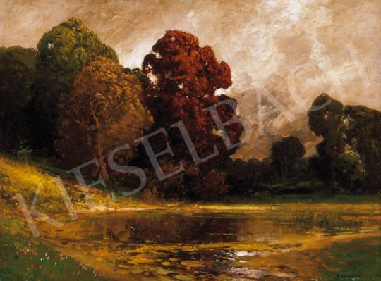 Arnegger, Alois - Erdőszéli tó | 20. Aukció aukció / 42 tétel