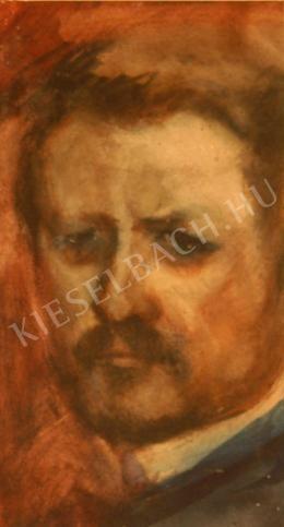 Kernstok Károly - Önarckép