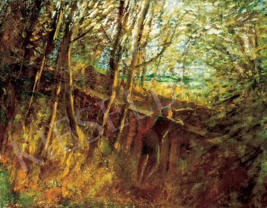 Mednyánszky, László - Guard   31st Auction auction / 9 Item