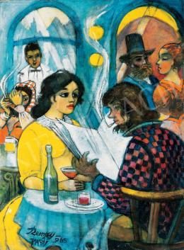 Remsey Jenő György - Párizsi kávéház