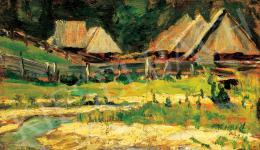 Nagy István - Erdélyi táj, 1910