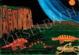 Mokry-Mészáros Dezső - Ősvilág (Prehisztorikus ősvilág),
