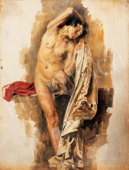 Karlovszky Bertalan - Erotikus jelenet