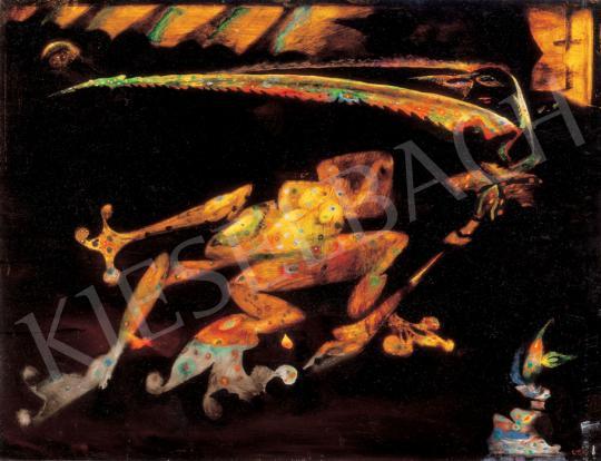 Almásy, Aladár - Prison Frog | 31st Auction auction / 46 Item