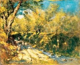 K. Spányi Béla - Árnyas út