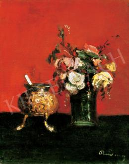 Rudnay, Gyula - Still Life of Flowers
